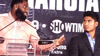 """ADRIEN BRONER TELLS GARCIA'S """"F--K Y'ALL""""; INSULTED WITH BETTING ODDS AND SAYS HE'LL FIGHT NATE DIAZ"""
