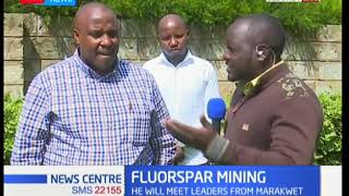 FLUORSPAR MINING: Governor to compensate Keyio South residents