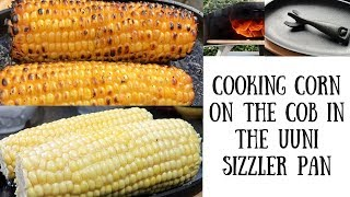 Cooking Corn on the Cob in the Ooni Sizzler Pan | Ooni 3 Wood-fired BBQ