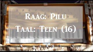 Learn Lehra - Raag Bhairavi, Teen Taal