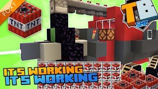 EXPLOSIVE MINING MISSION | Truly Bedrock Season 1 [96] | Minecraft Bedrock Edition 1.14 SMP