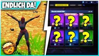 🔴 ROTE RITTERIN IS DA! 🛒 SHOP from TODAY: Gliders, Skins! - Fortnite Battle Royale