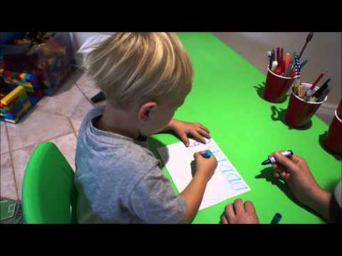 The basics for teaching a preschooler to write