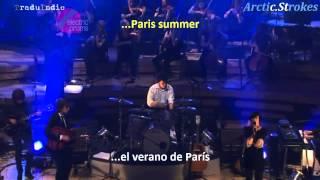 The Last Shadow Puppets - Paris Summer (inglés y español)