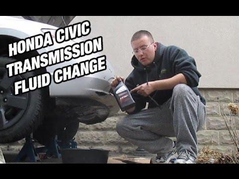 honda civic 2008 manual transmission oil change