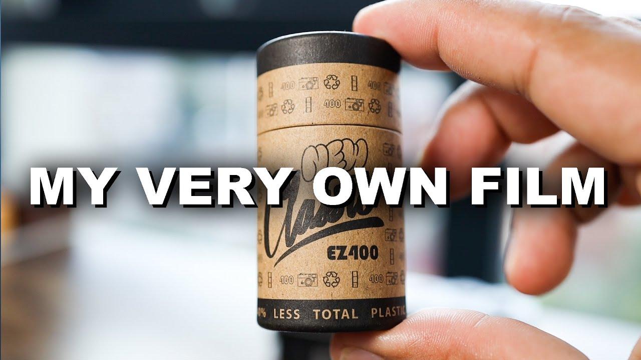 Launching my 35mm film brand - New Classic Film EZ400 (Black and White)