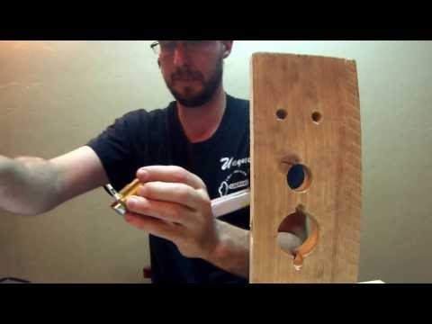 How To Install Alarm Lock Part 1