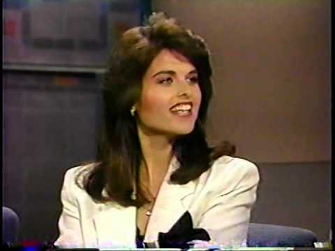 Maria Shriver @ David Letterman  1989