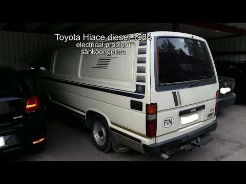 Toyota Hiace 1984 main fuses / pääsulakkeet - YouTubeYouTube