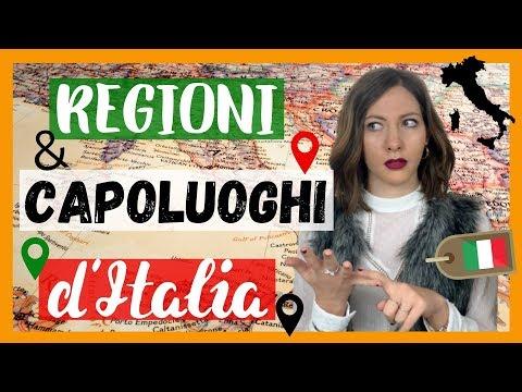 Le REGIONI e i CAPOLUOGHI d'Italia: Impara la Geografia Italiana! 🇮🇹