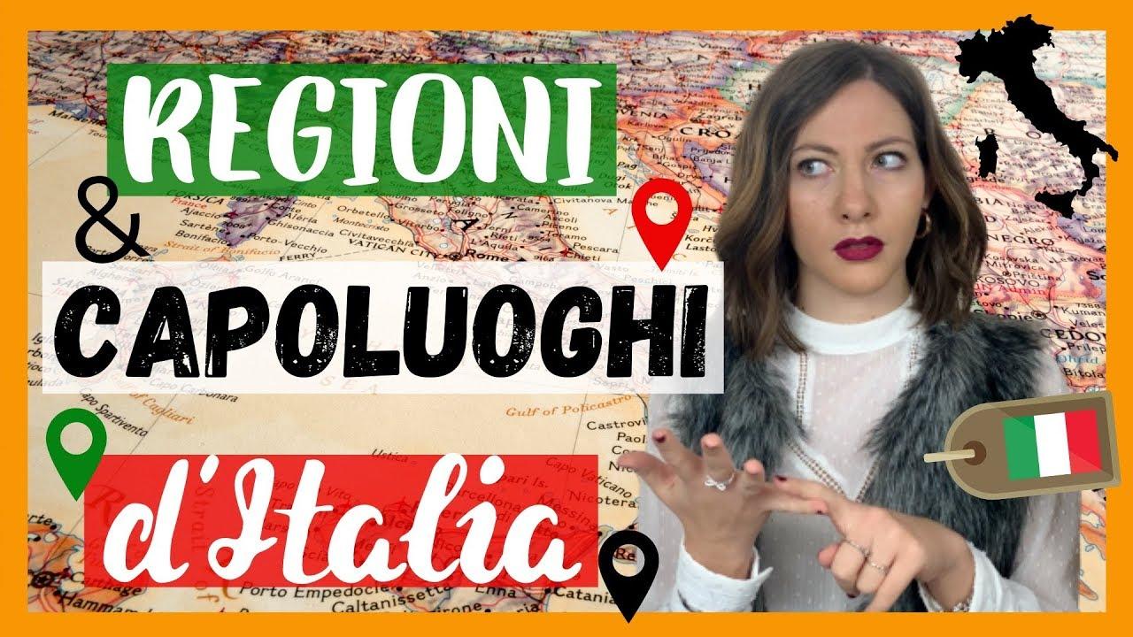 Cartina D Italia Con Capoluoghi Di Regione.Le Regioni E I Capoluoghi Italiani Quanti Sono Quali Sono Impariamoli Learnamo