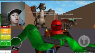 A long journey into Roblox Fight The Monsters by Canon