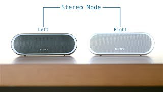 How to: Set Stereo Pairing on Sony Speakers With Sound Demo