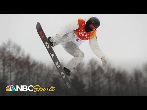 Shaun White gets massive score, tops halfpipe qualifying