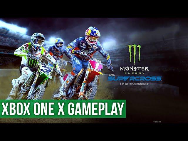 Monster Energy Supercross 3 - Gameplay (Xbox One X) HD