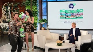 Ellen Recruits Average Andy for the 10th Annual Cat Week