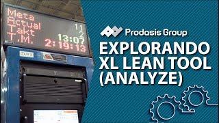 Explorando XL Lean Tool: Reportes de Analyze