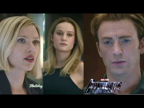 Avengers: Endgame | Captain Marvel Argues With Avengers Scene | Marvel 2019
