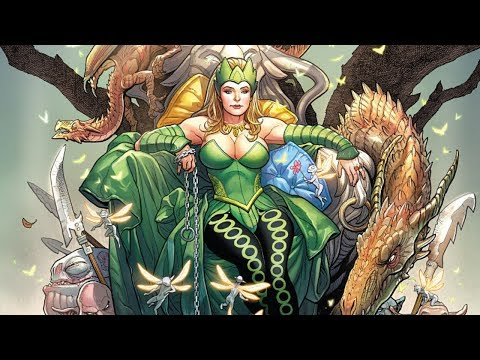 Marvel Future Fight Part 79 - Enchantress to Tier 2 - 동영상