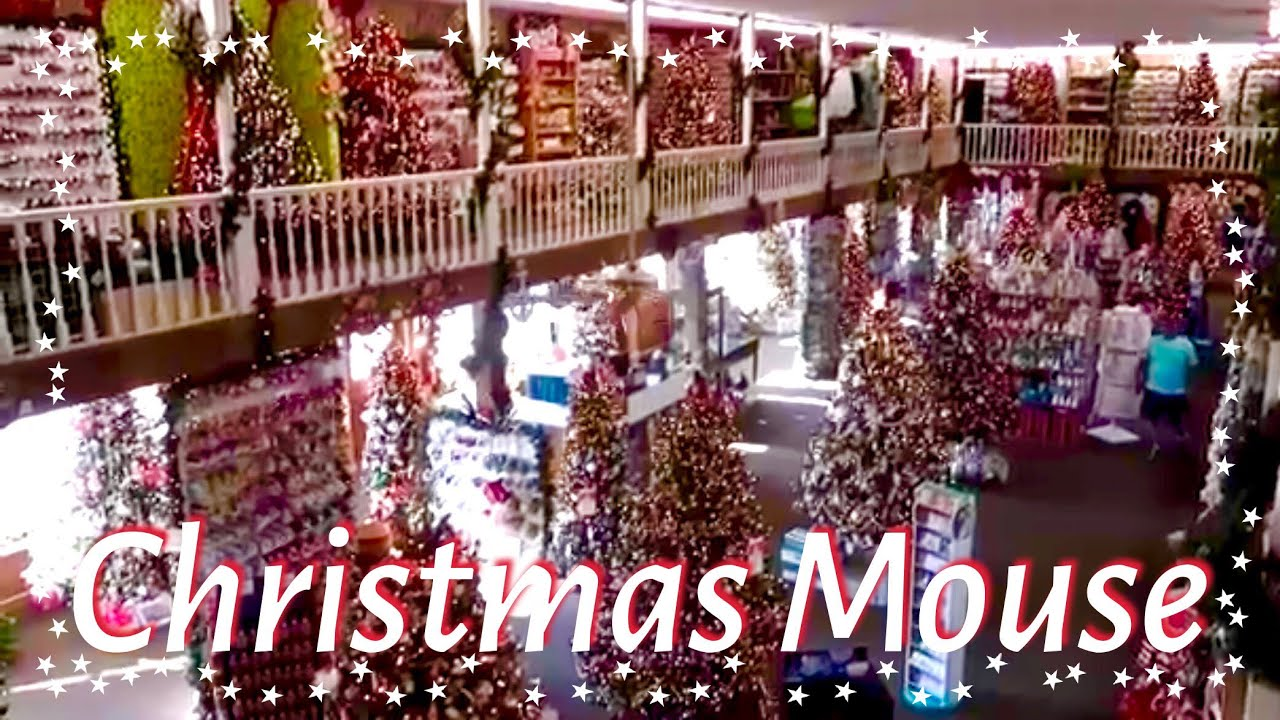 CHRISTMAS MOUSE Holiday Shop - Myrtle Beach | Attractions - YouTube