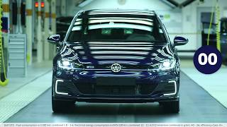 Volkswagen in 60 seconds  Production of the anniversary car