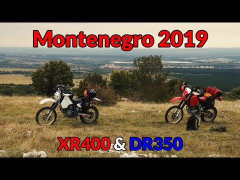 #3 Enduro Trip to Montenegro - travelling to Serbia, closed campings and fixing DR's sidestand