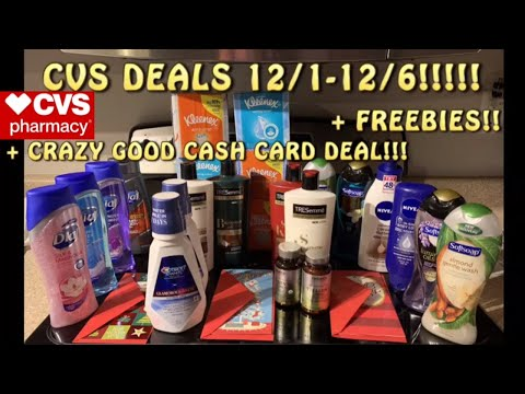 WOW CVS HAUL 12/1 !+ FREEBIES + CVS Deals 12/1 + CVS Scenarios +Full Breakdowns+ Digital Couponing💪