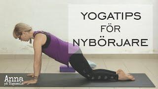 Yogatips: Hur gör man chaturanga