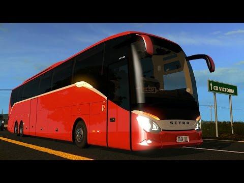 Mapa México | A Monterrey | Setra S 519 HD Autobus Extra Largo