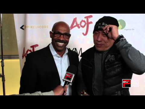 Michael Beach and Ron Yuan  their support for Will Yun Lee at Asians On Film