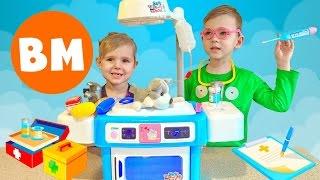ВМ: Играем Юный ветеринар | Playing Young vet table