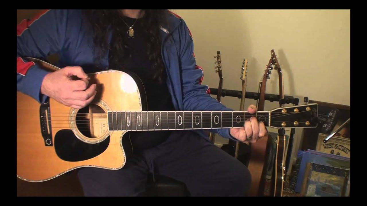 Guitar Lesson Chord Sequences Strumming 2 D Fmaj7 Em Am Youtube