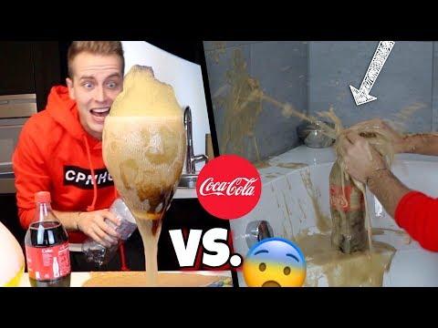 Cola vs. Bade-Bombe 😨 Experiment !!! | Julienco