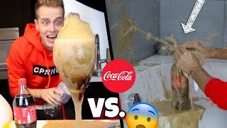 Cola vs. Bade-Bombe 😨 Experiment !!! | Julienco