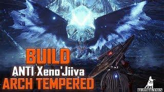 Monster Hunter World - BUILD CAVALA DE GLAIVE ANTI XENO