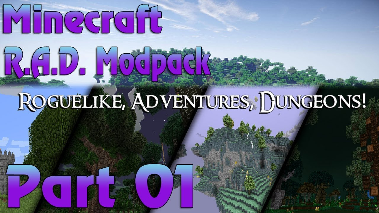 Minecraft Roguelike Adventures Dungeons Playthrough With