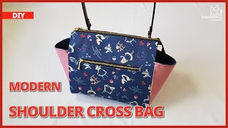 DIY/ MODERN SHOULDER CROSS BAG…