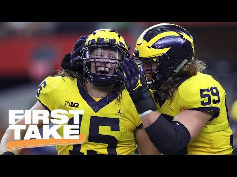 Paul Finebaum shocked by Michigan football's strength | First Take | ESPN