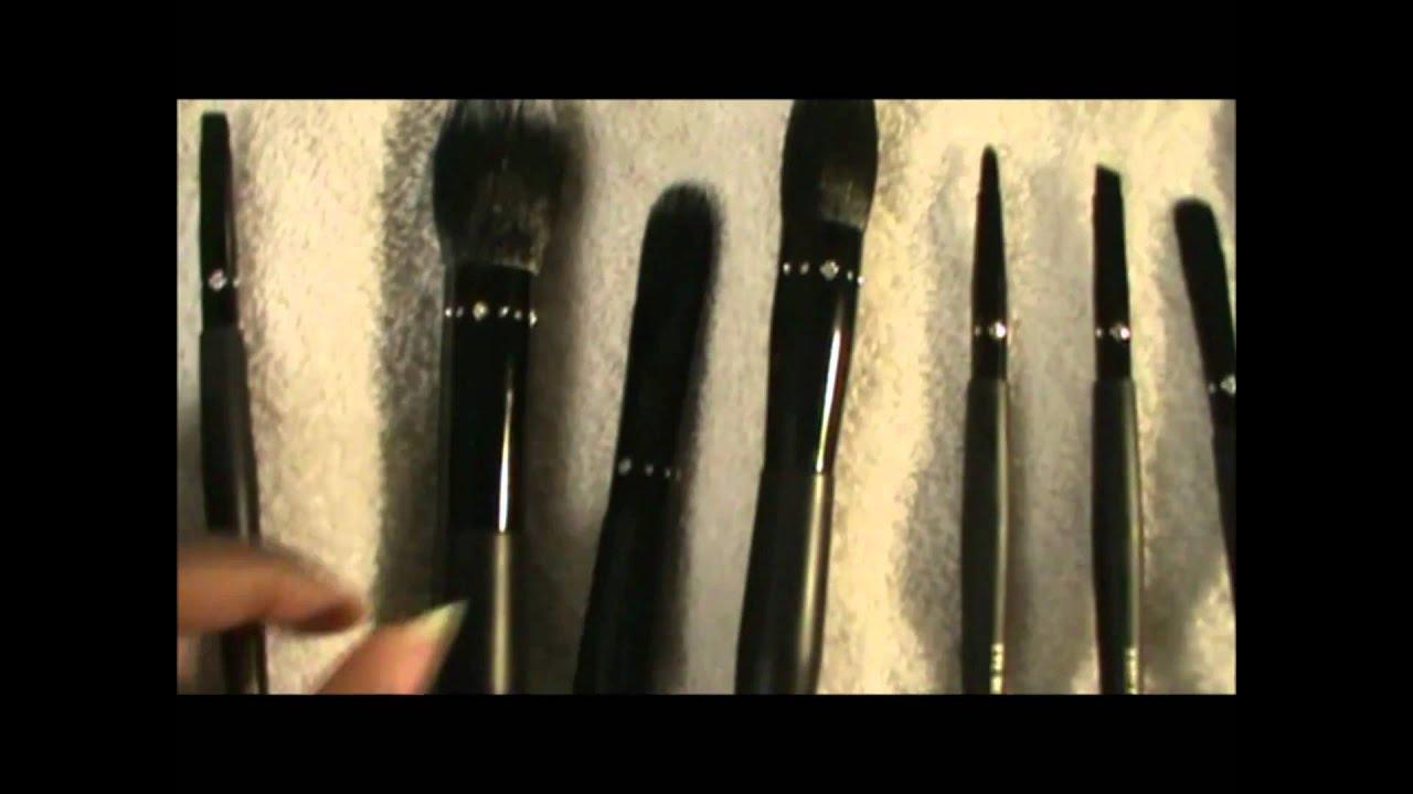 review on walmart professional make up brush set youtube