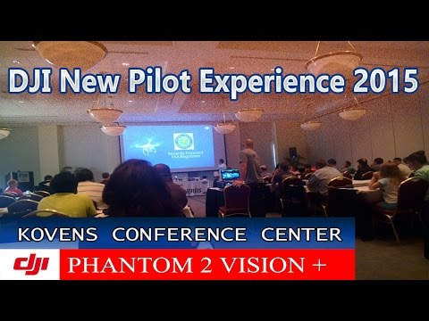 DJI New Pilot Experience 2015 - MIAMI Florida - Kovens Conference Center