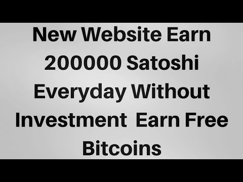 Daily Free Bitcoin 200000 Satoshi Faucet | Instant Payment Proof