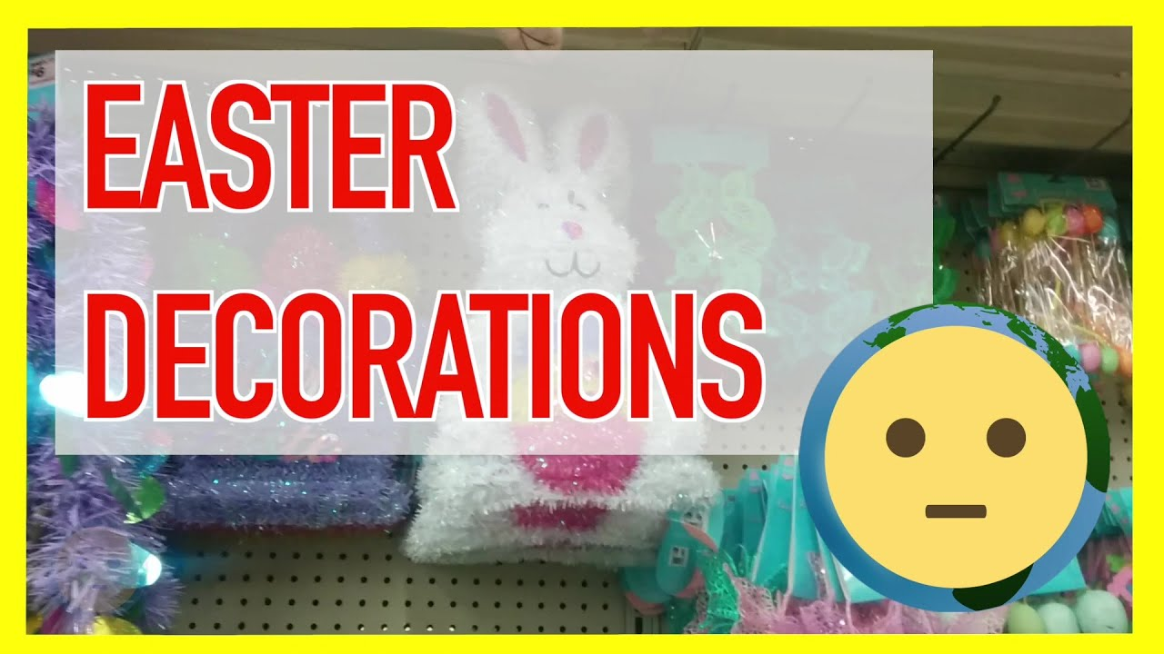 In Home Outdoor Easter Decorations Like Bunny Egg Decor For The Yard Or Table Pieces
