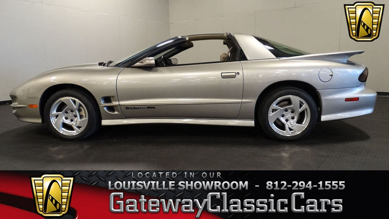 2000 pontiac firebird trans am ws6 louisville showroom stock 1592 youtube. Black Bedroom Furniture Sets. Home Design Ideas