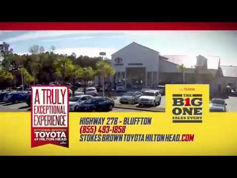 Exceptional THe B1g One Sales Event At Stokes Brown Toyota Of Hilton Head