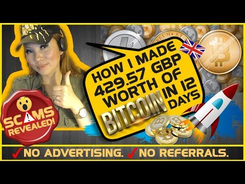 👍 Bitcoin Mining: How I Made £429.57 worth of BITCOINS In 12 Days [PROOF]