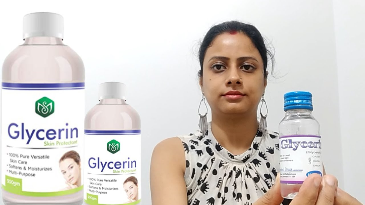 Uses of Glycerine for Face & Skin  ग्लिसरीन के फायदे  Beauty Tips in Hindi