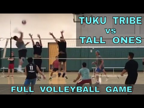 Tuku Tribe vs Tall Ones (FULL GAME 7/13/17) - IVL Men's Open Volleyball