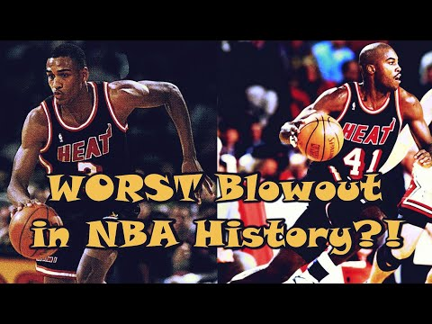 68 POINT LOSS In The NBA? The WORST Blowout in History!