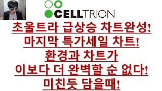 [주식투자]셀트리온(초울트라 급상승 차트완성!/마지막 …