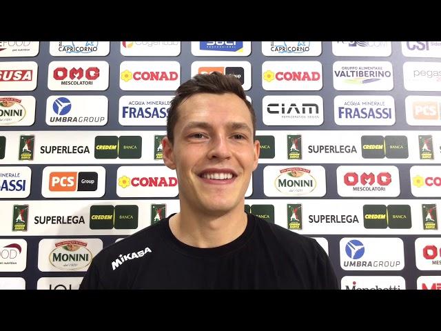 Jan Zimmermann analizza la prossima partita contro Modena